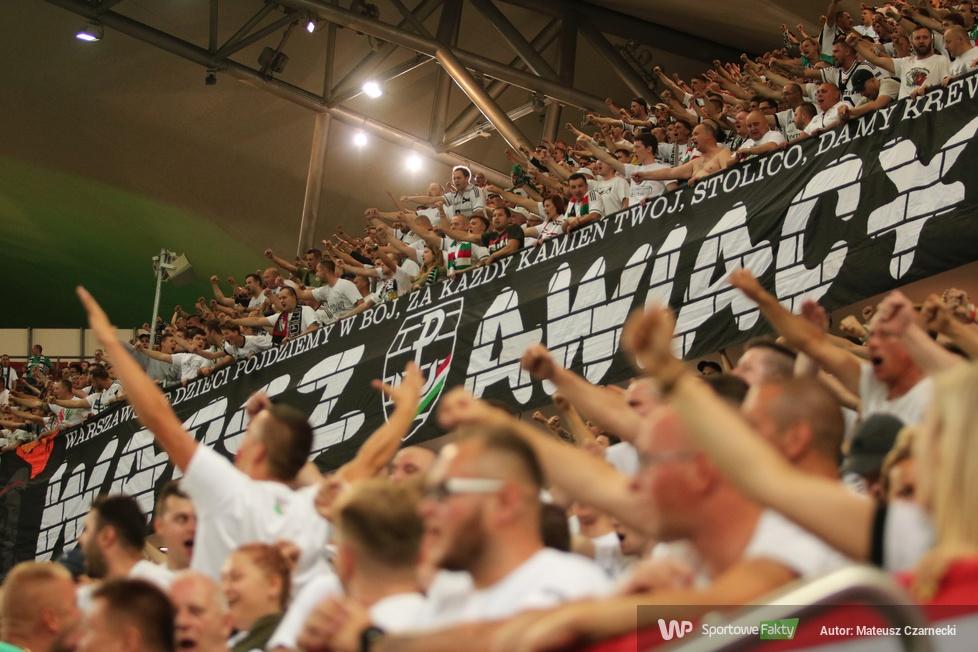 Liga Europy. Kibice podczas meczu Legia Warszawa - Atromitos Ateny (galeria)