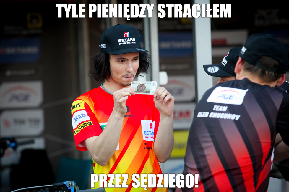 Memy po 13. kolejce PGE Ekstraligi. Marek Kuchciński jak Get Well Toruń. Też leci (galeria)