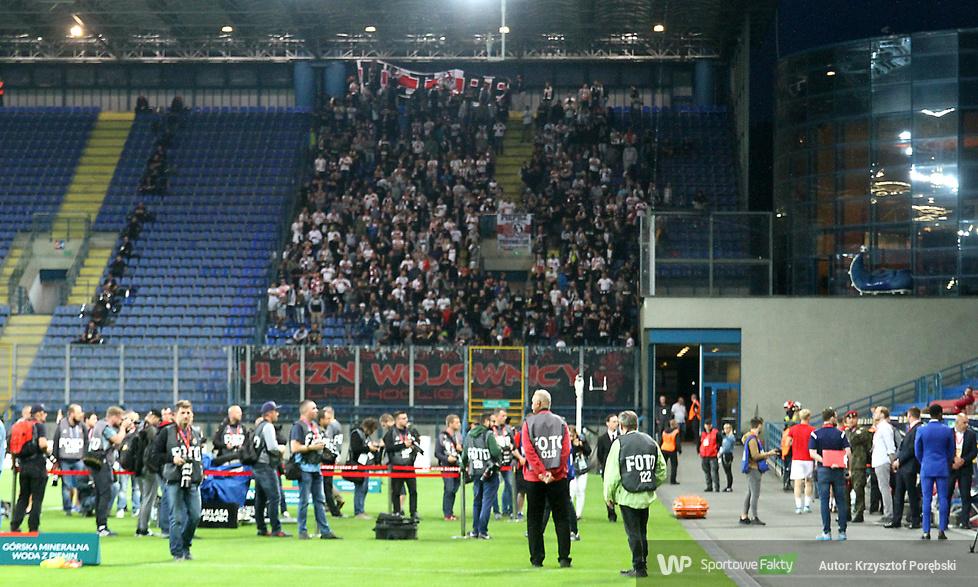 Kibice podczas meczu Wisła Kraków - ŁKS Łódź (galeria)