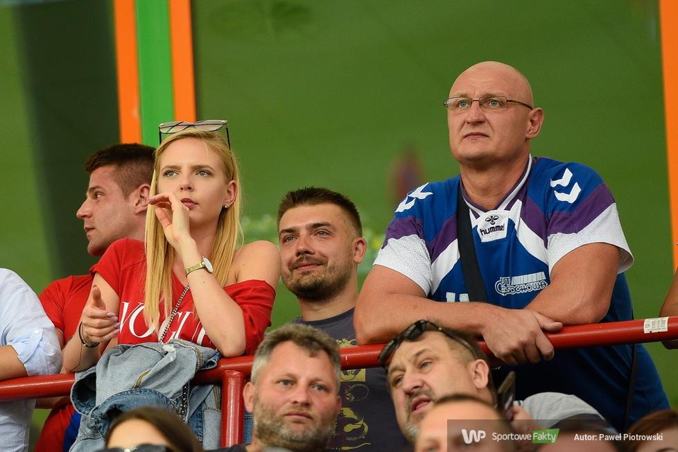 Kibice podczas meczu Raków Częstochowa - Lechia Gdańsk (galeria)