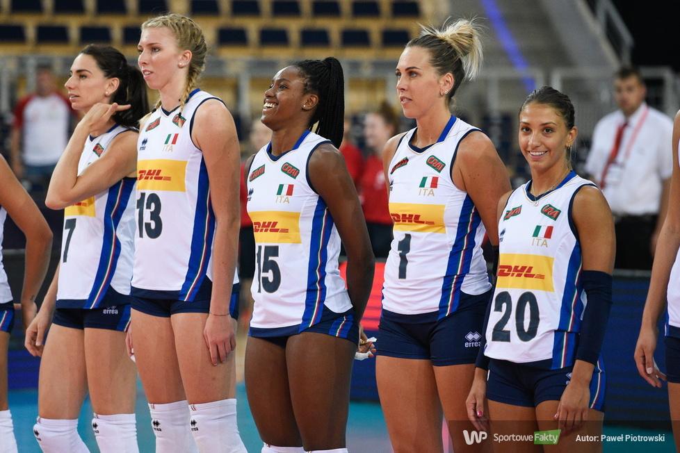 Mistrzostwa Europy siatkarek: Włochy - Portugalia 3:0 (galeria)