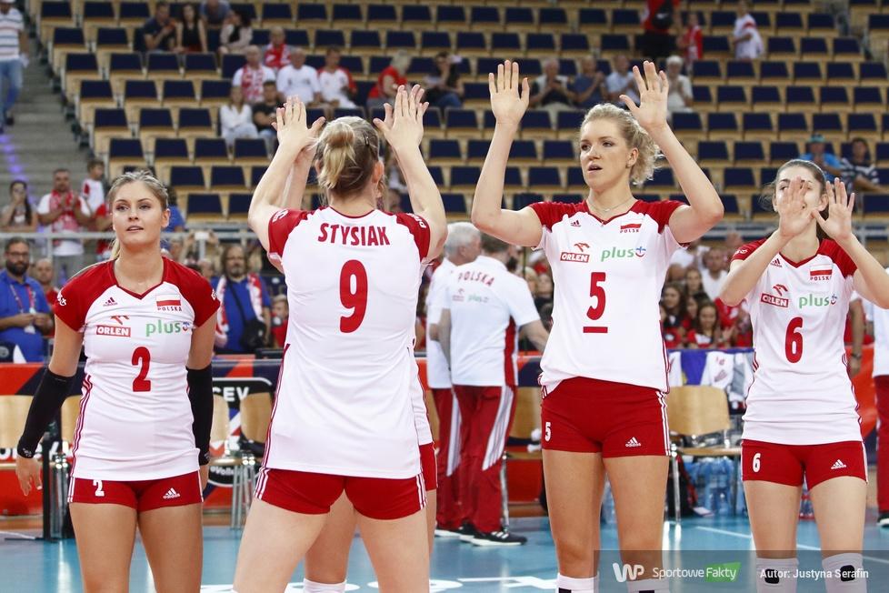 Mistrzostwa Europy siatkarek: Polska - Słowenia 3:0 (galeria)