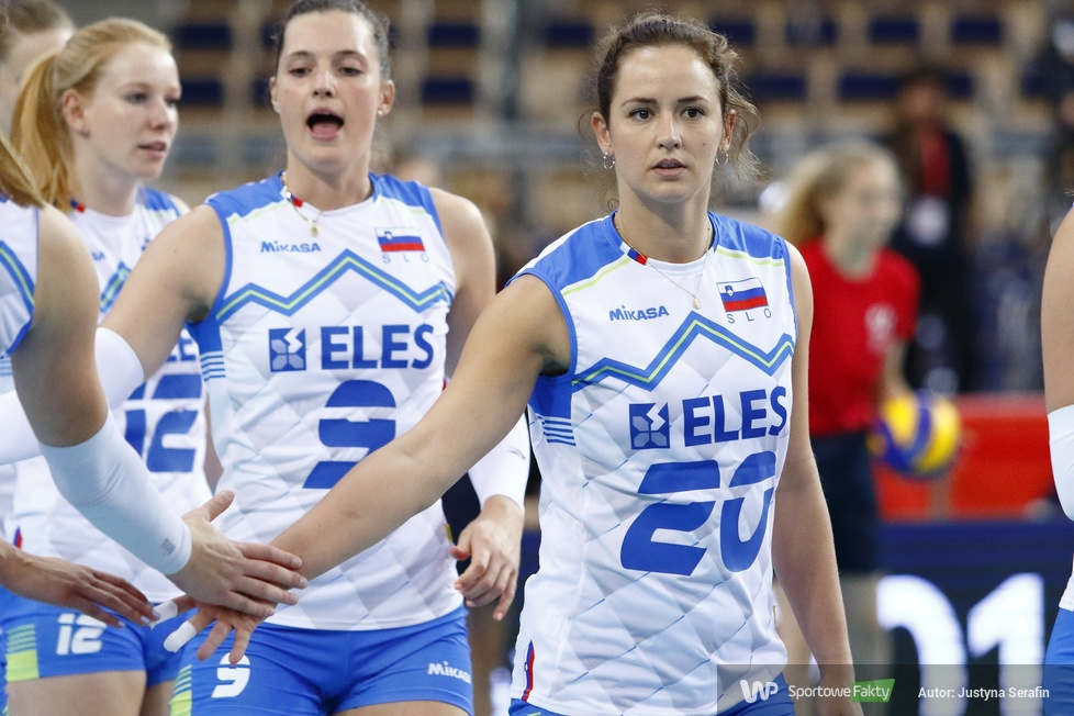Mistrzostwa Europy siatkarek: Belgia - Słowenia 3:0 (galeria)