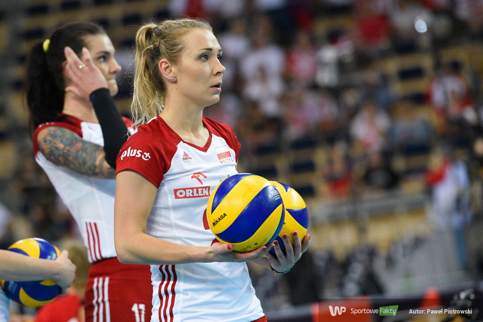 Mistrzostwa Europy siatkarek: Polska - Ukraina 3:1 (galeria)