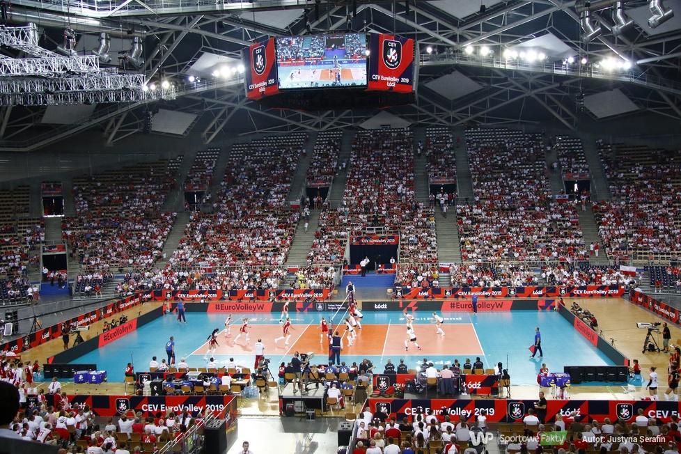 Mistrzostwa Europy siatkarek: Belgia - Polska 3:2 (galeria)