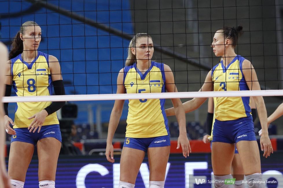 Mistrzostwa Europy siatkarek: Ukraina - Słowenia 2:3 (galeria)