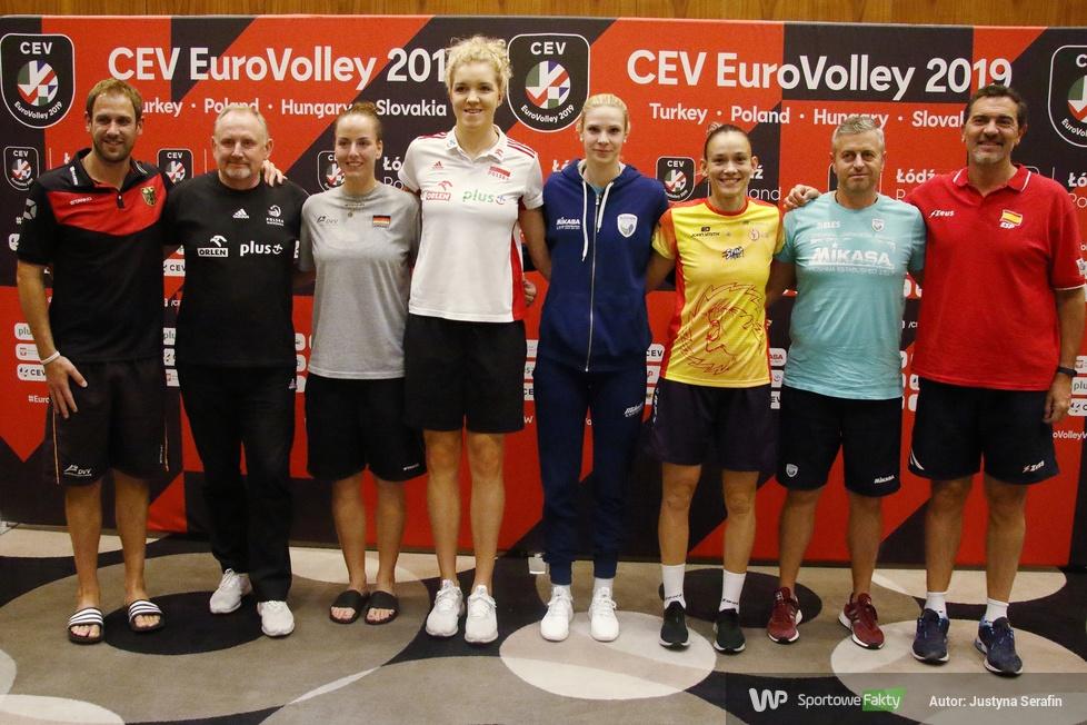 Mistrzostwa Europy siatkarek: konferencja przed 1/8 finału ME  (galeria)