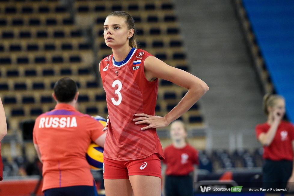 Mistrzostwa Europy siatkarek: Rosja - Włochy 1:3 (galeria)