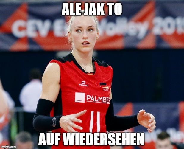 Mistrzostwa Europy siatkarek. Polska - Niemcy.