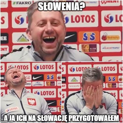 Eliminacje Euro 2020. Słowenia - Polska.