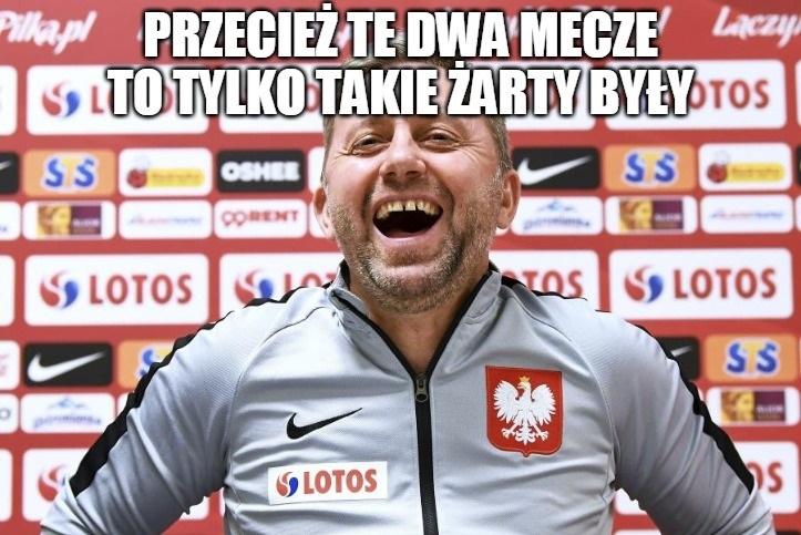 Eliminacje Euro 2020. Polska - Austria. Jerzy Brzęczek znowu pod ostrzałem. Zobacz memy