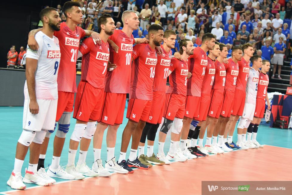 Mistrzostwa Europy siatkarzy. Faza grupowa: Grecja - Francja 0:3 (galeria)