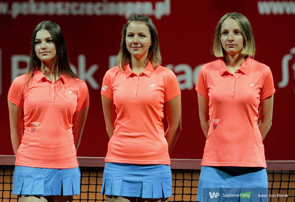 Pekao Szczecin Open: dekoracja zwycięzców gry podwójnej (galeria)