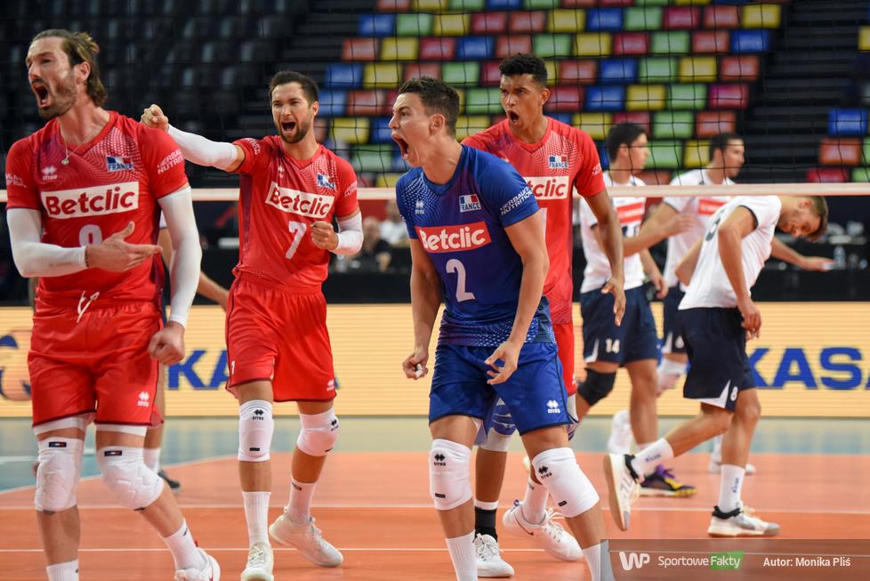 Mistrzostwa Europy siatkarzy. Faza grupowa: Portugalia - Francja 0:3 (galeria)