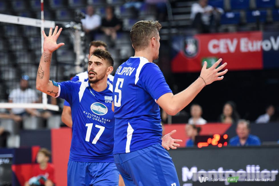 Mistrzostwa Europy siatkarzy. Faza grupowa: Rumunia - Grecja 1:3 (galeria)