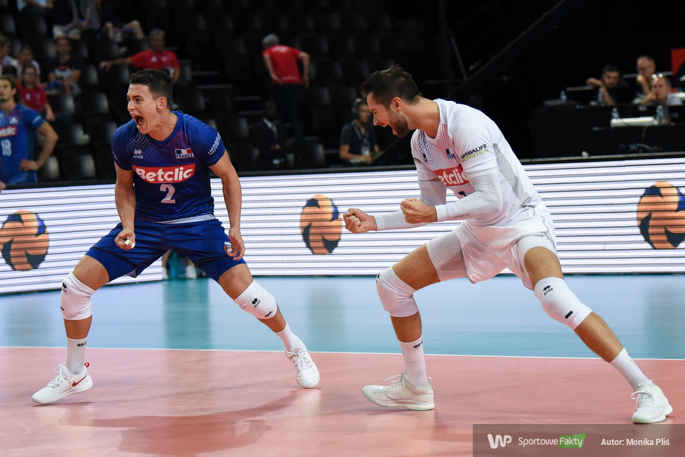 Mistrzostwa Europy siatkarzy. Faza grupowa: Francja - Bułgaria 3:0 (galeria)
