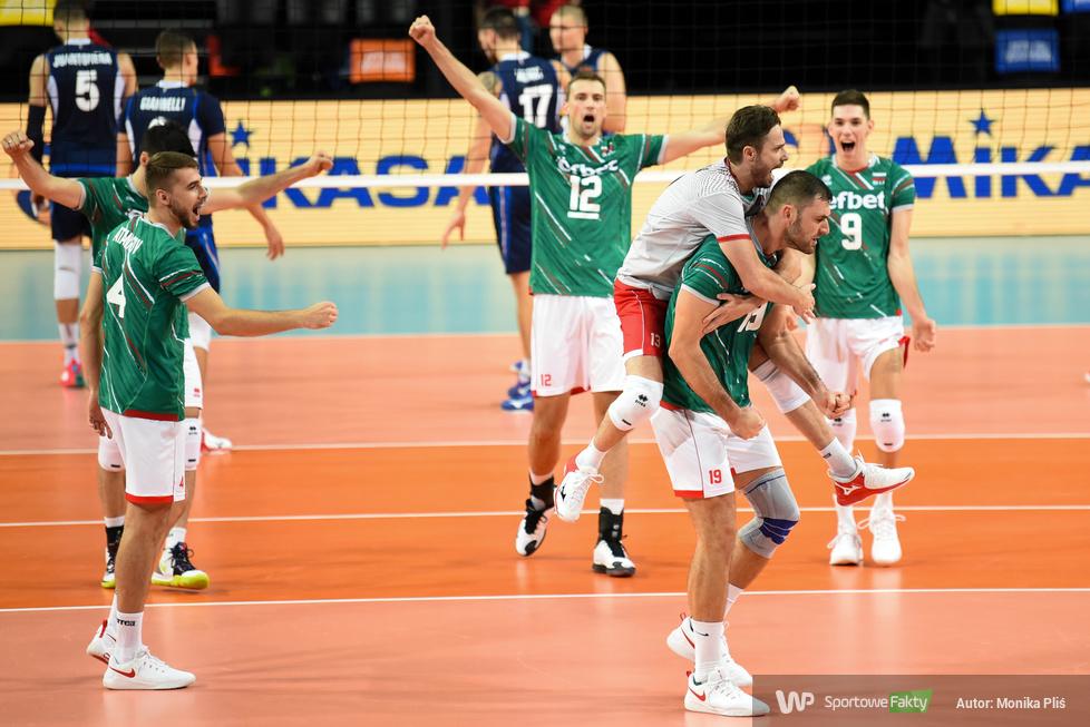 Mistrzostwa Europy siatkarzy. Faza grupowa: Włochy - Bułgaria 3:1 (galeria)