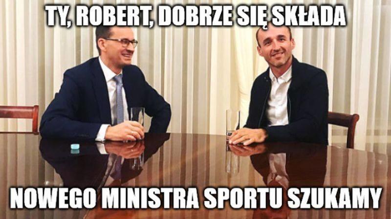 F1. Memy po odejściu Roberta Kubicy z Williamsa.