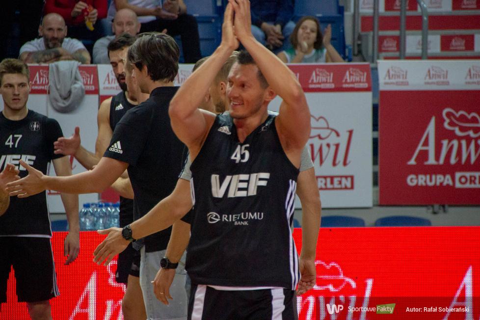 Kasztelan Basketball Cup 2019: Anwil Włocławek - VEF Ryga 96:92 (galeria)