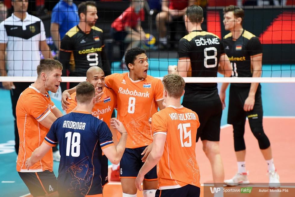 Mistrzostwa Europy siatkarzy 2019: 1/8 finału: Holandia - Niemcy 1:3 (galeria)