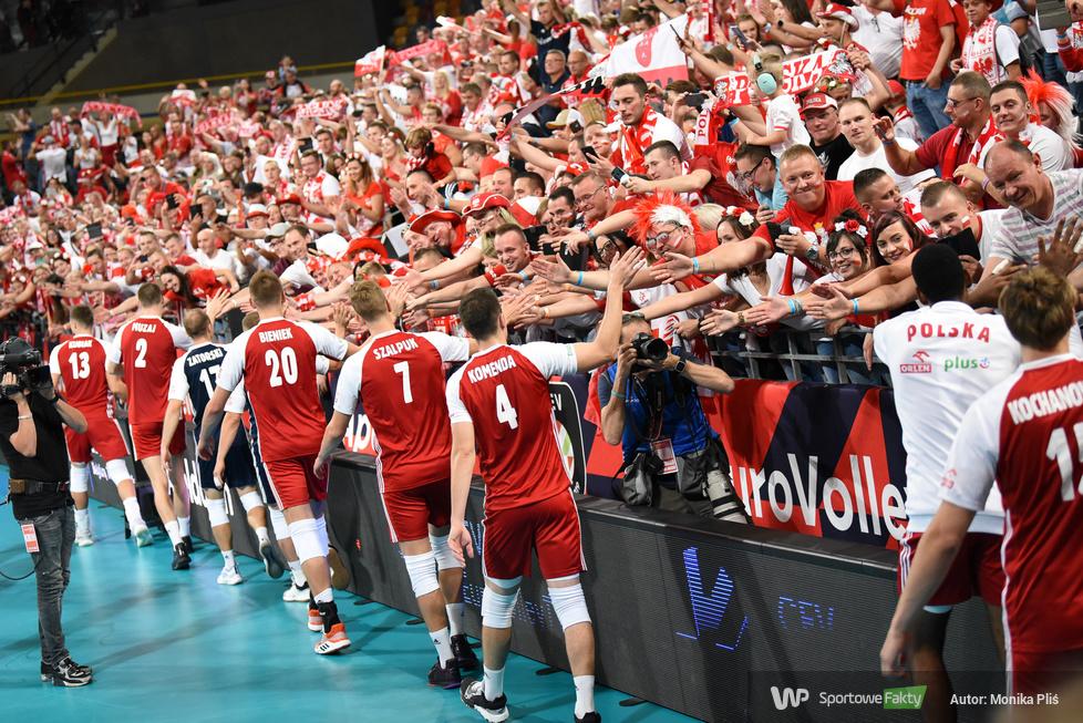 Mistrzostwa Europy siatkarzy 2019: 1/8 finału: Polska - Hiszpania 3:0  (galeria)