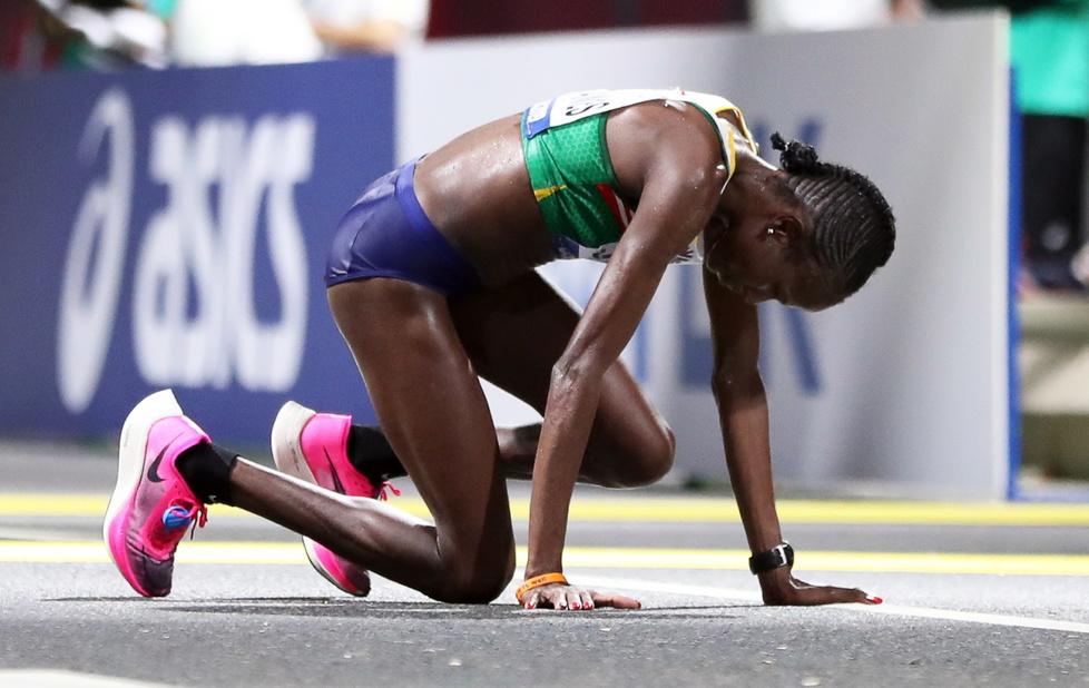 Lekkoatletyka. MŚ Doha 2019. Dramaty na trasie maratonu. O krok od tragedii (galeria)