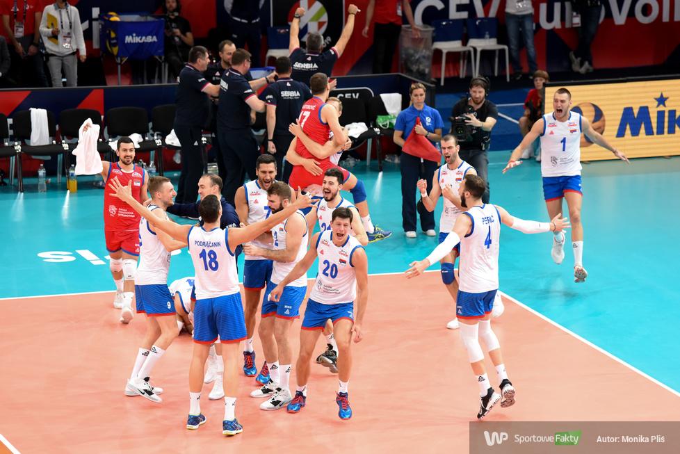 Mistrzostwa Europy siatkarzy: Francja - Serbia 2:3 (galeria)