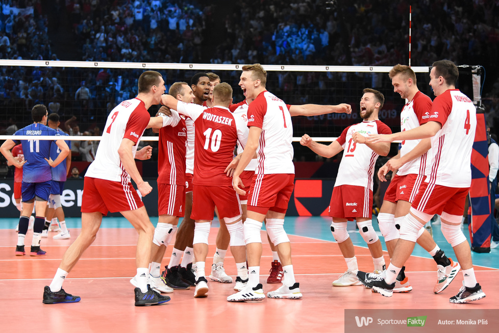 Mistrzostwa Europy siatkarzy 2019: Mecz o brąz: Francja - Polska  0:3 (galeria)