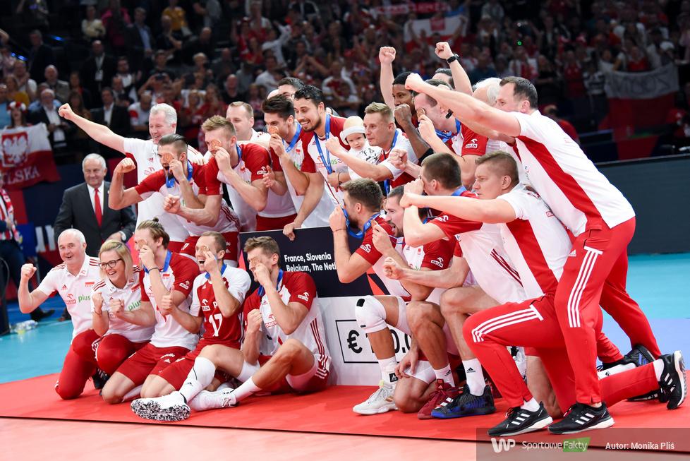 Mistrzostwa Europy siatkarzy 2019: Dekoracja brązowych medalistów (galeria)