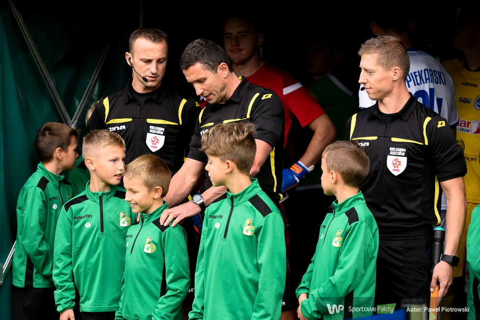 Fortuna I liga: GKS Bełchatów - Wigry Suwałki 3:0 (galeria)
