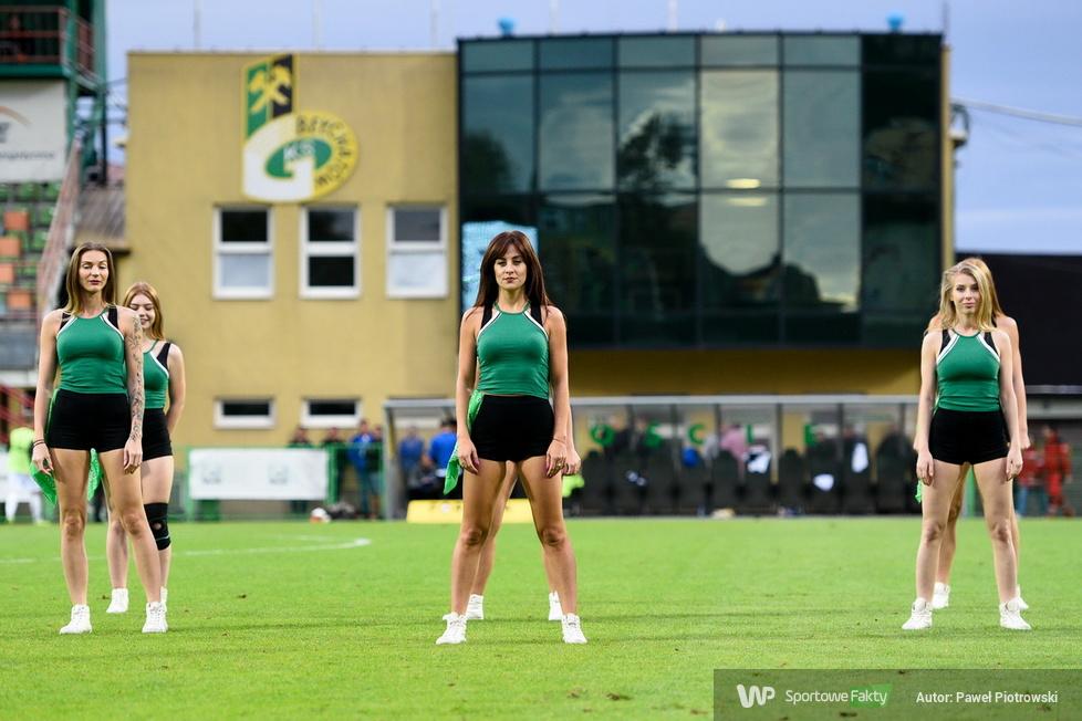 Występ Cheerleaders Bełchatów na Gieksa Arena (galeria)