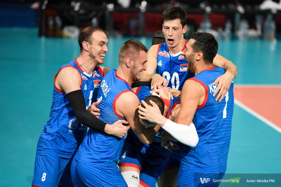 Mistrzostwa Europy siatkarzy 2019. Mecz o złoto: Serbia - Słowenia 3:1 (galeria)