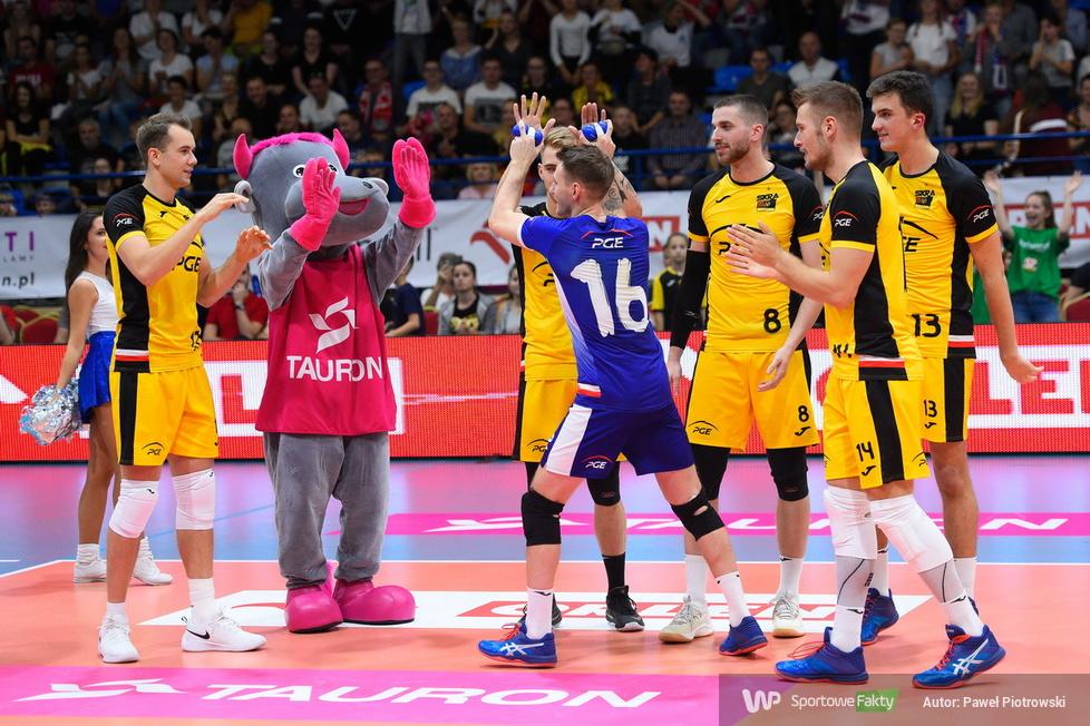 Giganci Siatkówki 2019: PGE Skra Bełchatów - Gas Sales Piacenza Volley 3:0 (galeria)