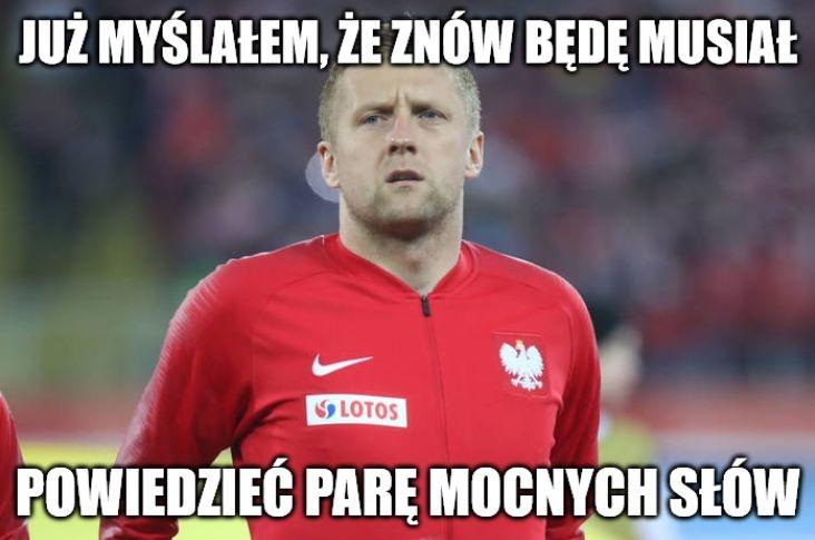 Eliminacje Euro 2020. Polska - Macedonia Północna. Brzęczek mistrzem zmian! Memy po awansie Polaków na ME
