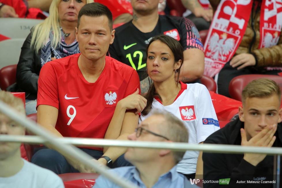 Kibice na PGE Narodowym podczas meczu Polska - Macedonia (galeria)