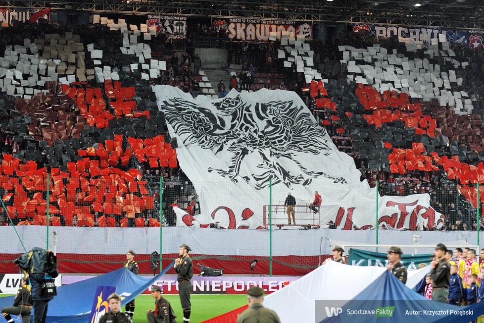 Kibice podczas meczu Wisła Kraków - Arka Gdynia (galeria)