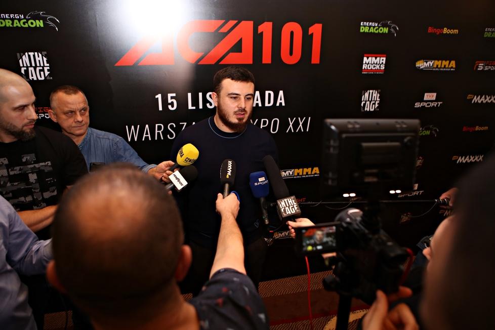 Spotkanie medialne przed galą ACA 101 w Warszawie (galeria)