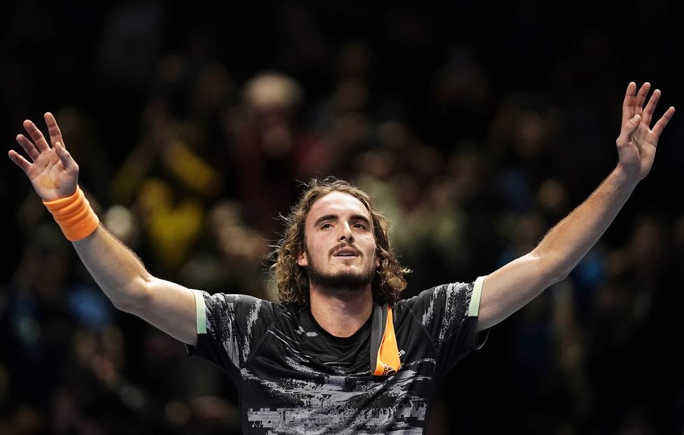 Stefanos Tsitsipas triumfatorem ATP Finals 2019. Grek wygrał Turniej Mistrzów w Londynie (galeria)