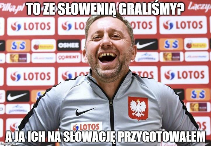 Eliminacje Euro 2020. Polska - Słowenia. Memy po meczu.