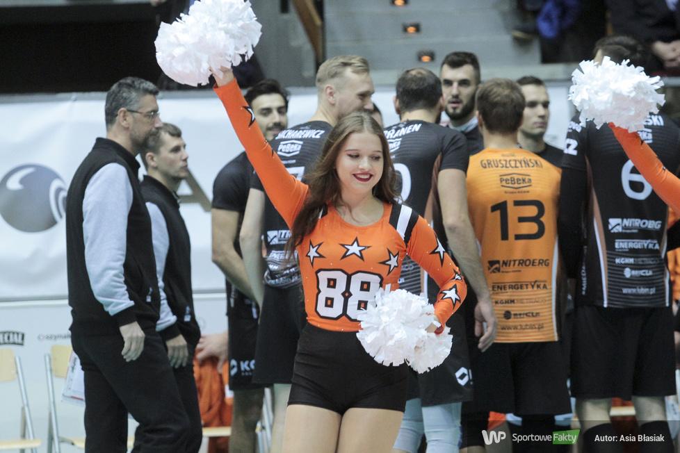 Soltare Cheerleaders na meczu Indykpol AZS Olsztyn - Cuprum Lubin (galeria)