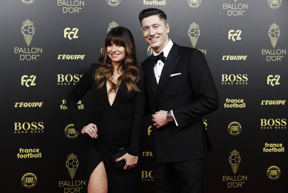 Złota Piłka 2019. Robert i Anna Lewandowscy brylowali na gali w Paryżu! (galeria)