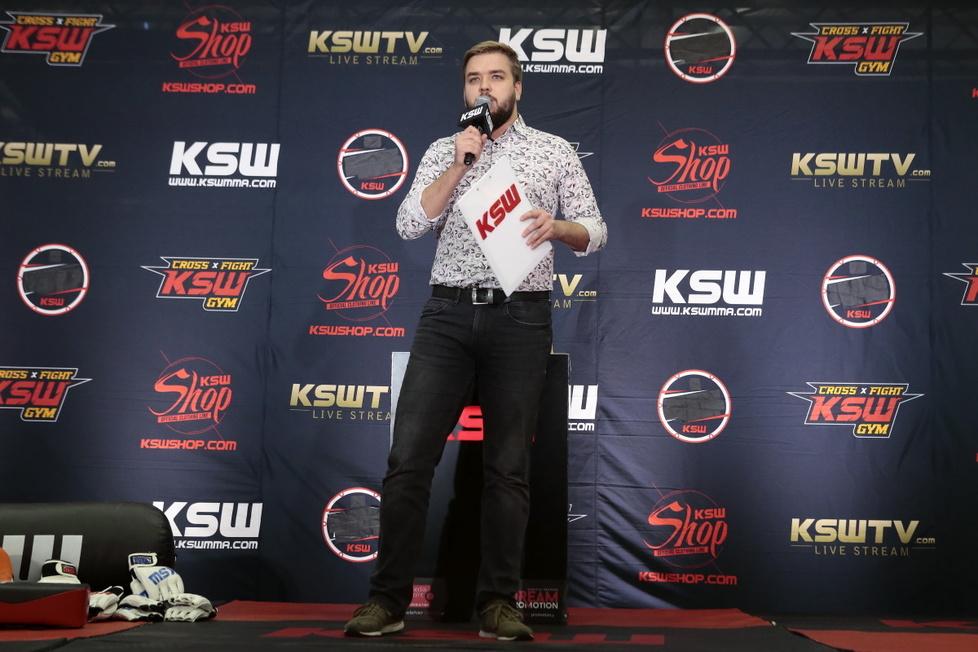 Media trening przed KSW 52: The Race w Gliwicach (galeria)