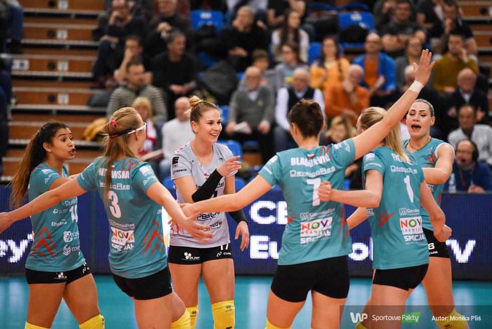 Puchar CEV: Developres SkyRes Rzeszów - ASPTT Mulhouse Volley  3:2 (galeria)