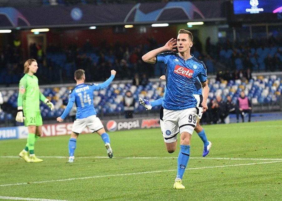 Liga Mistrzów. Napoli - Genk. Zobacz