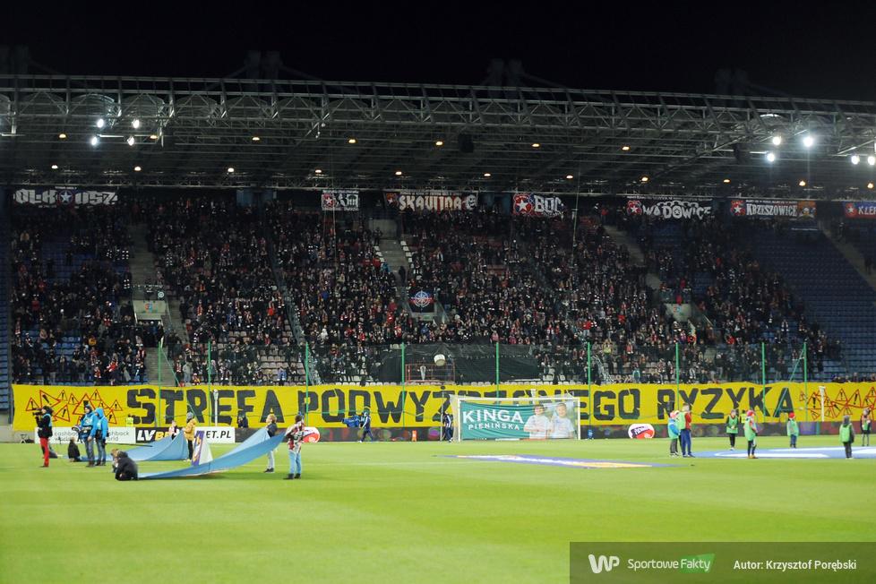 Kibice podczas meczu Wisła Kraków - Pogoń Szczecin (galeria)