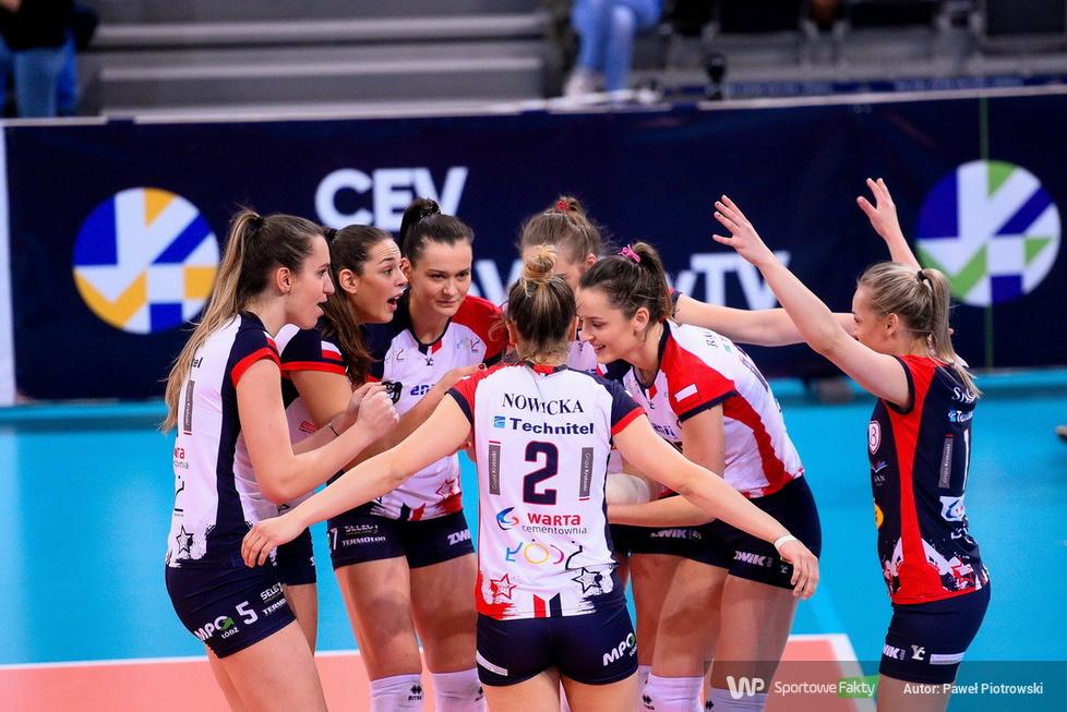 Liga Mistrzyń: Grot Budowlani Łódź - Eczacibasi Virta Stambuł 0:3 (galeria)