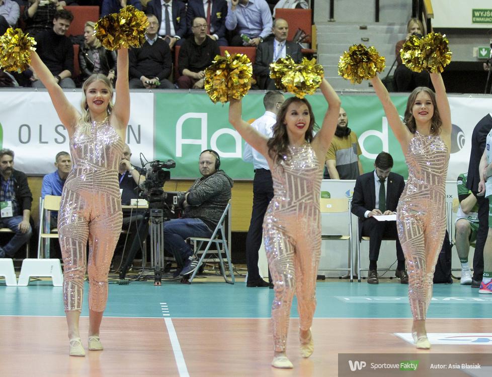 Soltare Cheerleaders podczas meczu Indykpol AZS Olsztyn - PGE Skra Bełchatów (galeria)