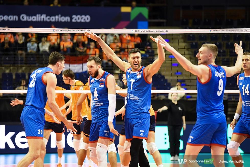 Kwalifikacje olimpijskie Tokio 2020: Holandia - Serbia 0:3 (galeria)