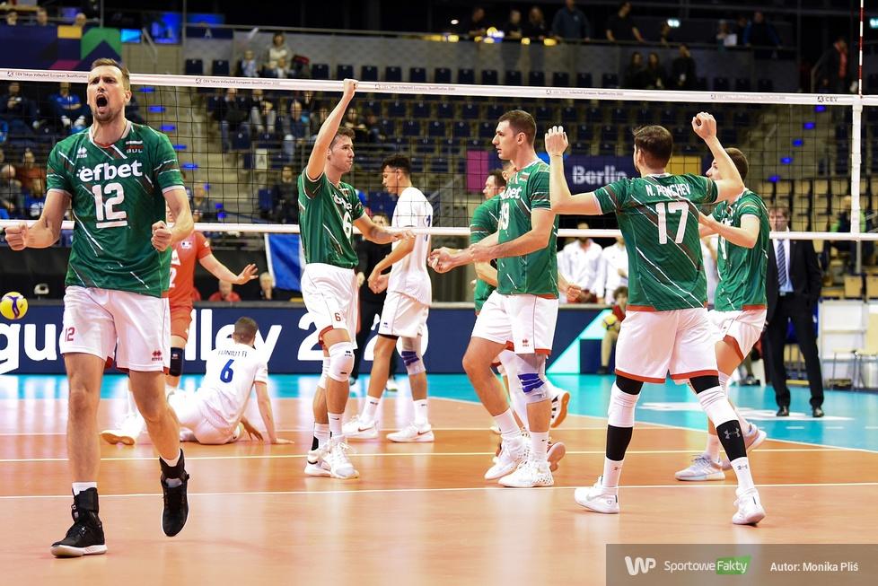 Kwalifikacje olimpijskie Tokio 2020: Bułgaria - Francja 3:2 (galeria)