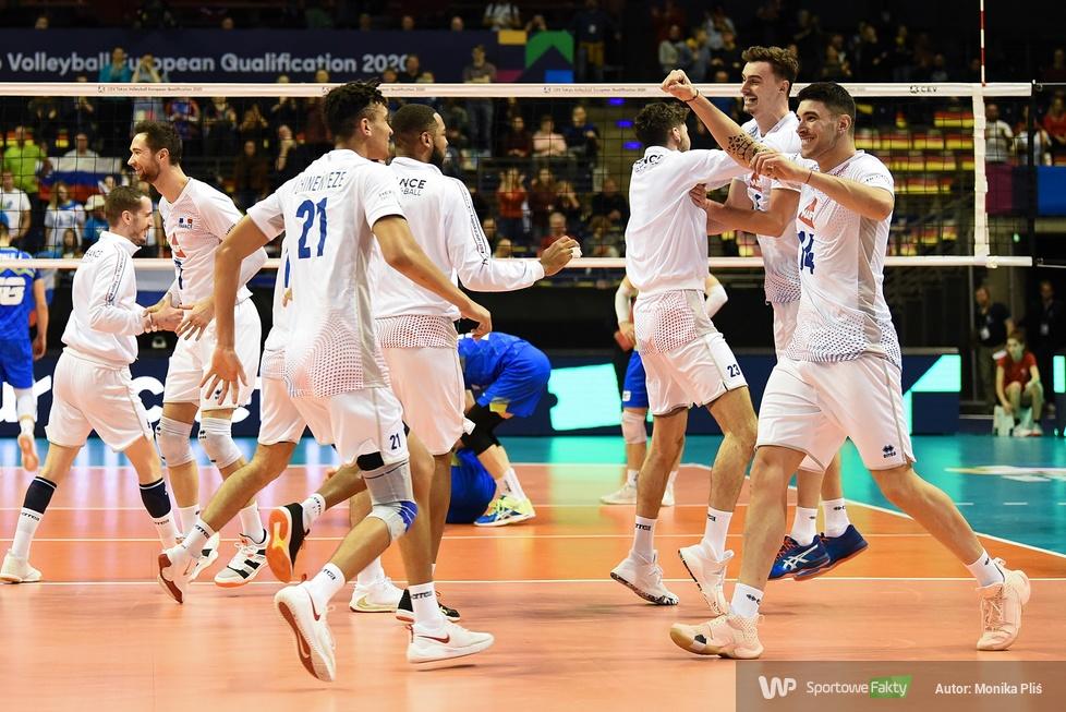 Kwalifikacje olimpijskie Tokio 2020: Słowenia - Francja 2:3 (galeria)
